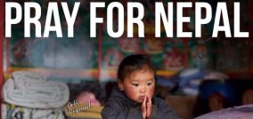 Please pray for Nepal and Myanmar