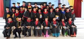 GRADUATION ON 7 APRIL 2016, ASIA SEMINARY FOR MINISTRY IN NEPAL